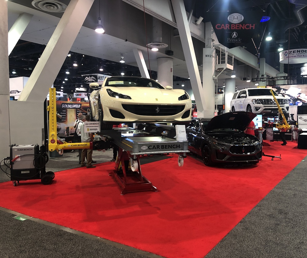 Another great success for Car Bench International at SEMA show 2019