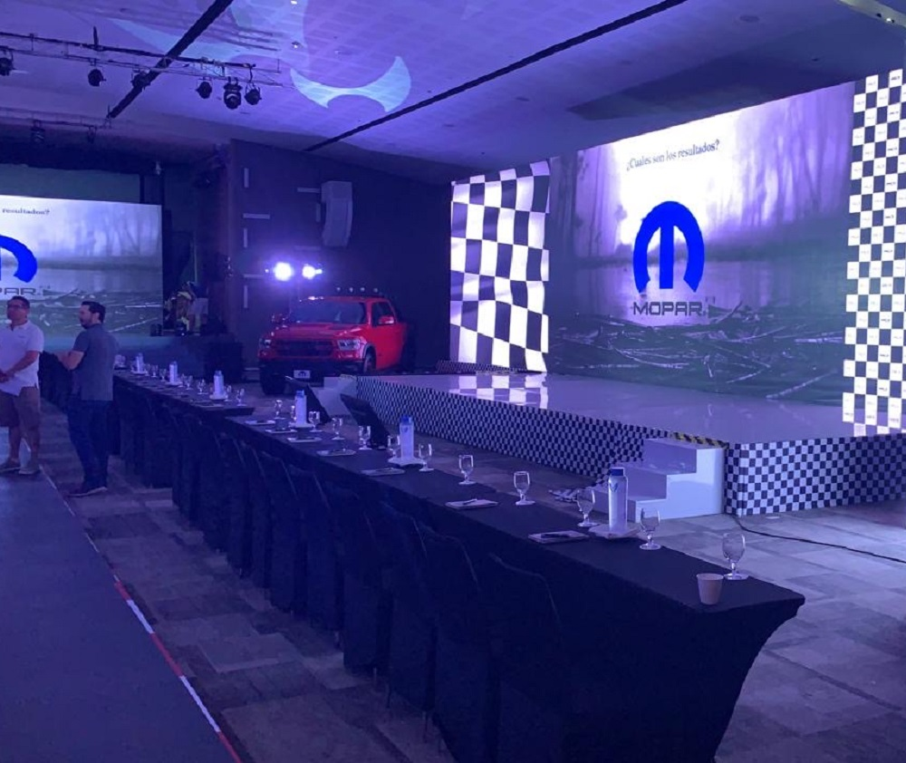 Car Bench International S.p.A. and Rotalift at MOPAR 2019 in Mexico