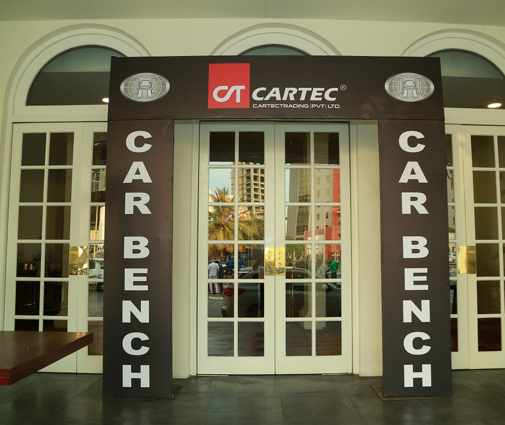 Car Bench International and Cartec launch event in Sri Lanka